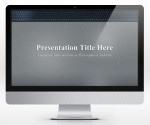 Free Leather Gray PowerPoint Template (16:9) | SlideHunter.comSlideHunter.com