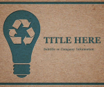 Free Free Recycle PowerPoint Template - Free PowerPoint Templates - SlideHunter.com