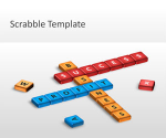 Free Scrabble PowerPoint Template - Free PowerPoint Templates - SlideHunter.com