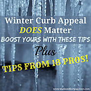 Best Winter Curn Appeal Advice When Selling a Home
