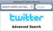 Advanced Twitter Search