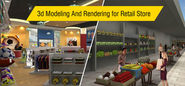 Get Your Retail Store Design Approved - 3d Modeling And Rendering Can Help