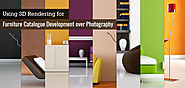 Using 3D Rendering for Furniture Catalogue Development over Photography