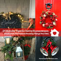 Savvy Holiday Tips for Front Door Decorations