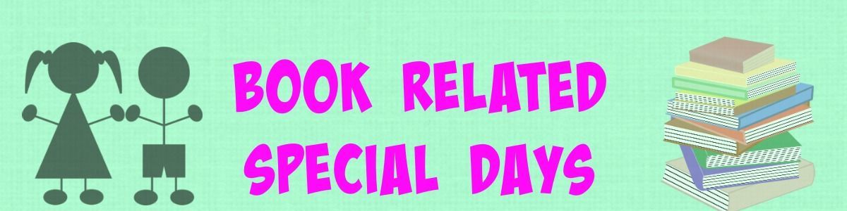 Headline for Book Related Special Days for Kids