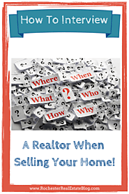 Tips to Interview Realtor's to Sell Your Home