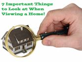 7 Key Things When Viewing Properties