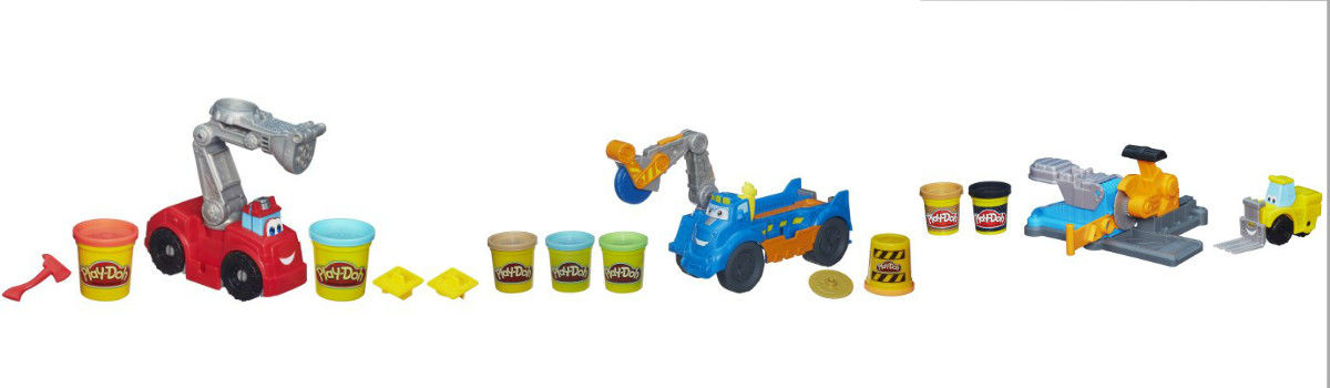 Headline for Play Doh Diggin Rigs Trucks and Play Sets