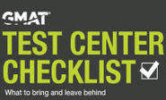 GMAT Test Center Checklist