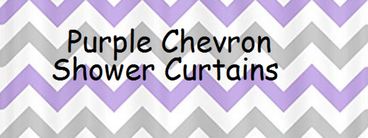 Headline for Awesome Purple Chevron Print Shower Curtain Designs