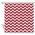 Pretty Glitter Chevron Shower Curtain Designs