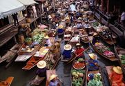 Damnoen Saduak Floating Market (Half Day)