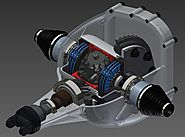 3D CAD Model of Automotive Differential