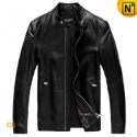Mens Black Leather Jackets uk CW809012 - m.cwmalls.com