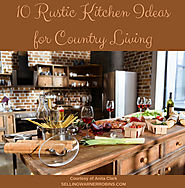 10 Smart Rustic Kitchen Ideas for Country Living