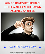 Why Do Homes Return Back To The Market After Having Had An Offer Accepted