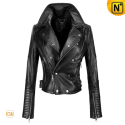 Cropped Motorcycle Jackets CW608102 - cwmalls.com