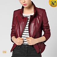 CWMALLS Womens Motorcycle Jacket CW650028