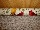 Door Draft Stopper Filled with Fragrant Balsam - Cardinals