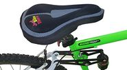 Bike Seat Cover - Best Padded Memory Foam Saddle Cushion for Comfort - Men and Women