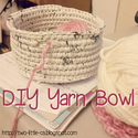 DIY Yarn Bowl