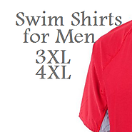 Best Big and Tall Swim Shirts for Men 3XL and 4XL - Reviews of Swimming Shirts
