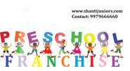 Shanti Junior Preschool Franchise in Pune is Convenient for its Kid Care Services