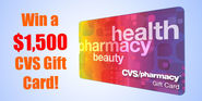 Win CVS Pharmacy $1,500 Gift Card for FREE
