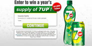 Get Free 7up For a Whole Year. Claim Today!!!