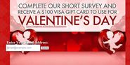 Win $100 Free Valentine Gift Card for Your Dear One - 2015
