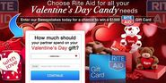 Get $1,500 Valued Free Rite Aid Valentine Gift Card
