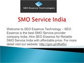 SMO Promotion Services in India at Affordable Price