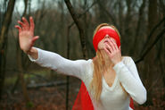 Spend more time in the garden and less time actually gardening. (Purchase a blindfold first.)