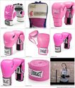 Pink Everlast Boxing Gloves for Women