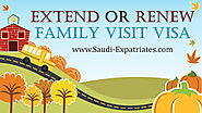 FAMILY VISIT VISA EXTENSION SAUDI ARABIA