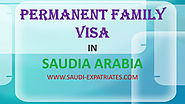 PERMANENT FAMILY VISA IN SAUDI ARABIA
