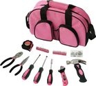 Apollo Precision Tools DT0423P 69-Piece Household Tool Kit, Pink