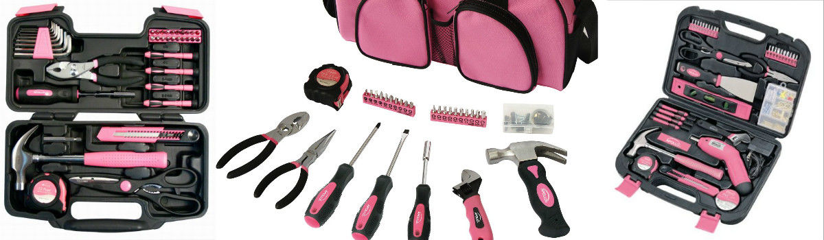 Headline for Apollo Pink Tool Set - Pink Tools for Women