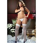Top Rated Plus Size Thigh High Cotton Socks Reviews