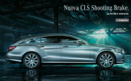 Nuova Mercedes CLS Shooting Brake