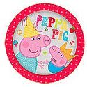 Peppa Pig Party Plates - at PartyWorld Costume Shop
