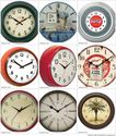 Large Retro Clocks - Vintage Kitchen Wall Clocks