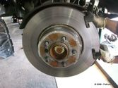 Brake Pedal vibrates or shakes Inspection