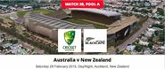 Live streaming of New Zealand vs. Australia world cup 2015