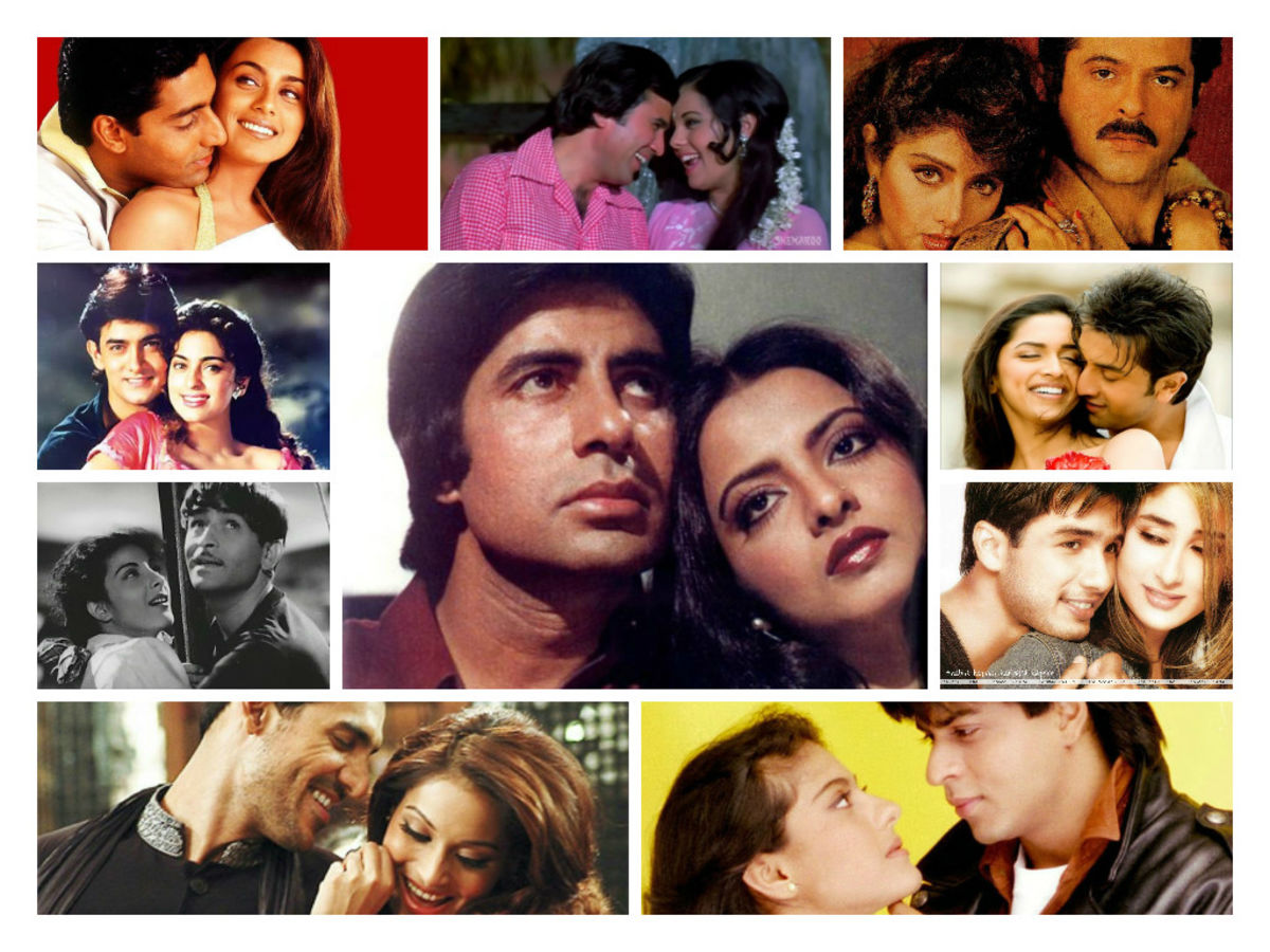Headline for 10 perfect onscreen couples of Bollywood who never married.