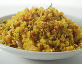 Poha With Mixed Sprouts