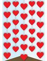 Valentine Hearts Decoration - at PartyWorld Costume Shop