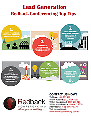 Redback Conferencing Top Tips: Lead Generation