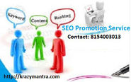 Why it is Most Important to SEO Promotion Services in Your Website?