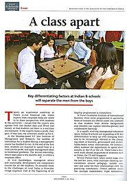 A Class Apart - FLAME University - Top MBA Colleges in Pune